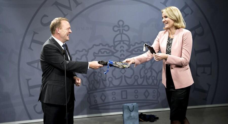 Thorning gav i juni depechen videre til Lars Løkke Rasmussen. Nu forlader hun helt dansk politik.