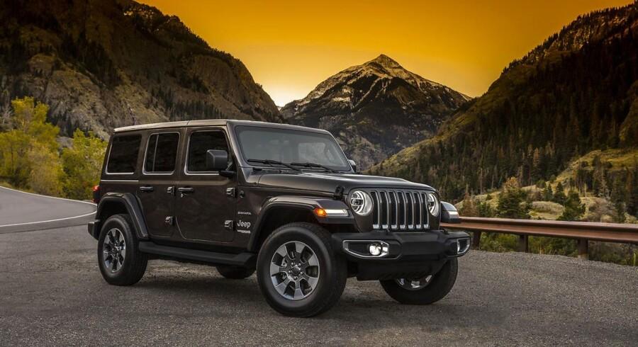 Wrangler er et ikon, som Jeep ikke skal pille for meget ved - hvorfor den nye minder meget om den gamle, bare lidt rundere. Men teknik og sikkerhed er stærkt opgraderet