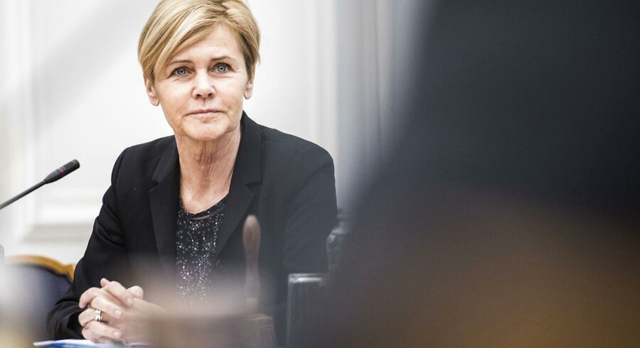 Arkvifoto: Kulturminister Mette Bock.