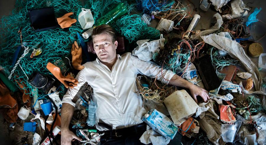Henrik Beha Pedersen. Han har stiftet organisationen Plastic Change, der vil bekæmpe plastik i havet