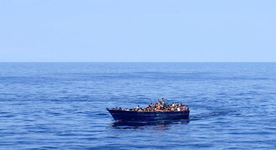 1700 er reddet i Middelhavet.
