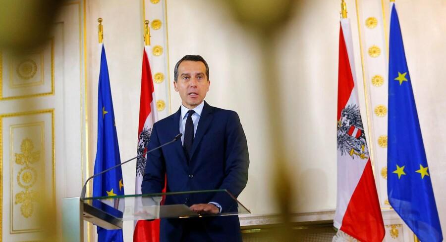 Forhandlingerne er en »diplomatisk fiktion«, udtaler Østrigs kansler, Christian Kern, og opfordrer sine kolleger i EU til at droppe ideen om tyrkisk EU-medlemskab.