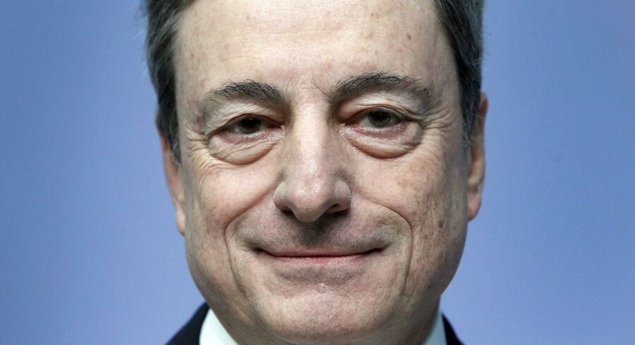 Mario Draghi, formand for the European Central Bank (ECB)