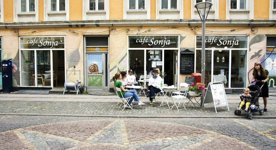 Snart får Café Sonja i Saxogade selskab af tre nye socialøkonomiske virksomheder.
