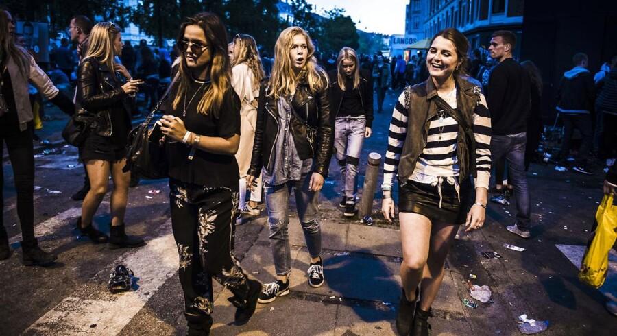 ARKIVFOTO fra gadefestilvalen Distorition i København 2015.