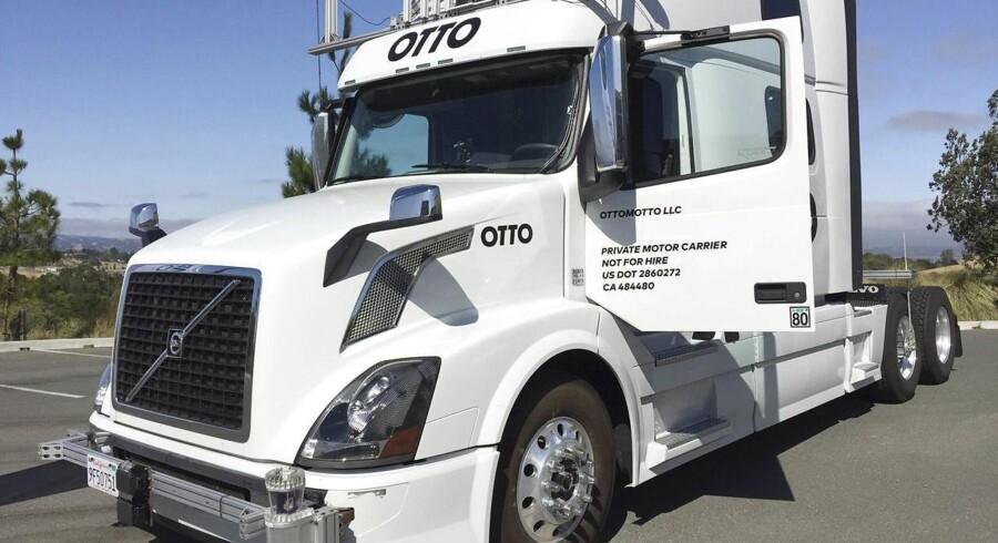 Den tidligere chef for Googles selvkørende biler forlod giganten med en kæmpe bonus og startede for sig selv med selvkørende lastbiler i selskabet Otto, som Uber snart efter købte. Arkivfoto: Alexandria Sage, Reuters/Scanpix