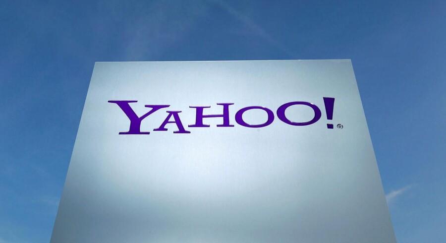 600.000 danskere har en e-mail-konto hos Yahoo ifølge Foreningen af Danske Interaktive Medier.