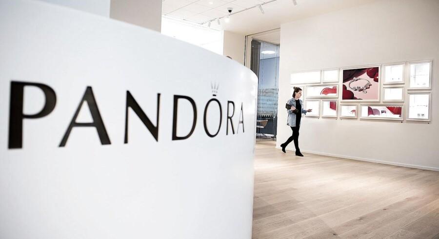 ARKIVFOTO Pandoras hovedkvarter på Havneholmen.