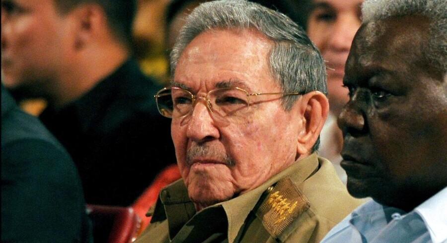 Cubas præsident, Raul Castro, vil træde tilbage i april 2018.