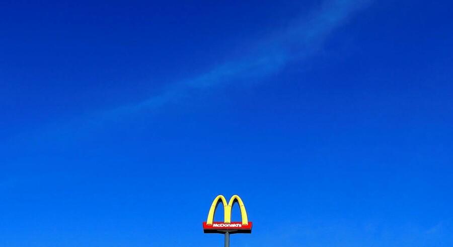 Det går bedre end ventet for fastfood kæden over dem alle, McDonalds.