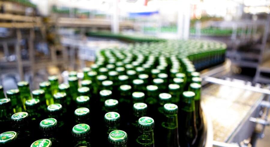 Danskernes smag for alkoholfri øl er i kraftig vækst, og det forsøger Carlsberg at udnytte. Arkivfoto.