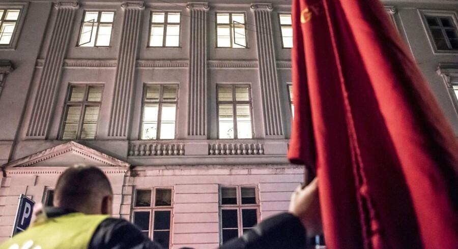 Når parterne ikke til enighed inden 1. maj, kan der udbryde strejke 6. maj og lockout fra 12. maj. (Foto: Mads Claus Rasmussen/Ritzau Scanpix)