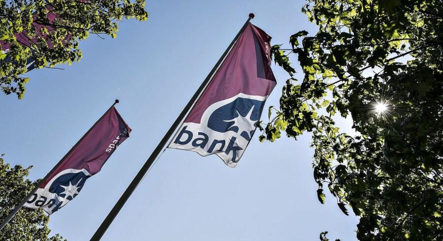 ARKIVFOTO: Spar Nord Bank, hovedsæde på Skelagervej i Aalborg.