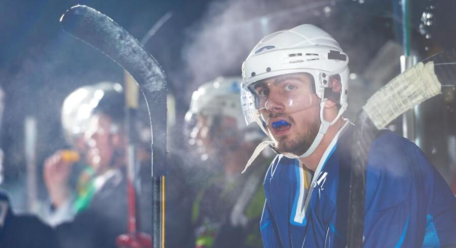 Modelfoto: En norsk ishockeykamp varede til langt ud på natten, da Storhamar slog Sarpsborg efter 11 perioder.