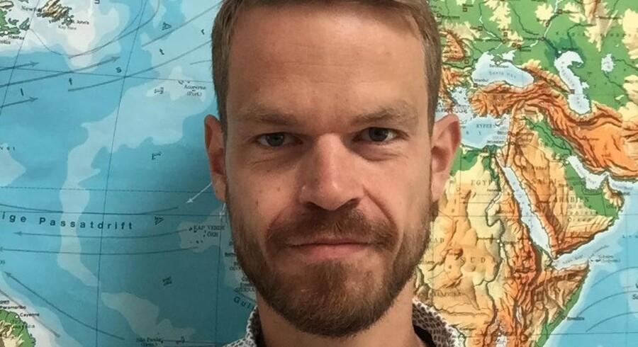 »Jeg er så gammeldags, at jeg stadig bliver en lille smule flov, når jeg forsøger at tage en selfie,« siger Svend Brinkmann, der dog har overvundet sig selv og har taget denne selfie til Kulturgrillen.