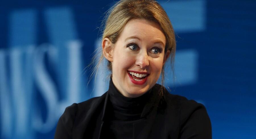 Intelligent, tiltalende, overbevisende. 32-årige Elizabeth Holmes, stifter og topchef i Theranos, fik på kort tid investorer til at sætte hundredvis af millioner dollar i sin virksomhed. Foto: Mike Blake