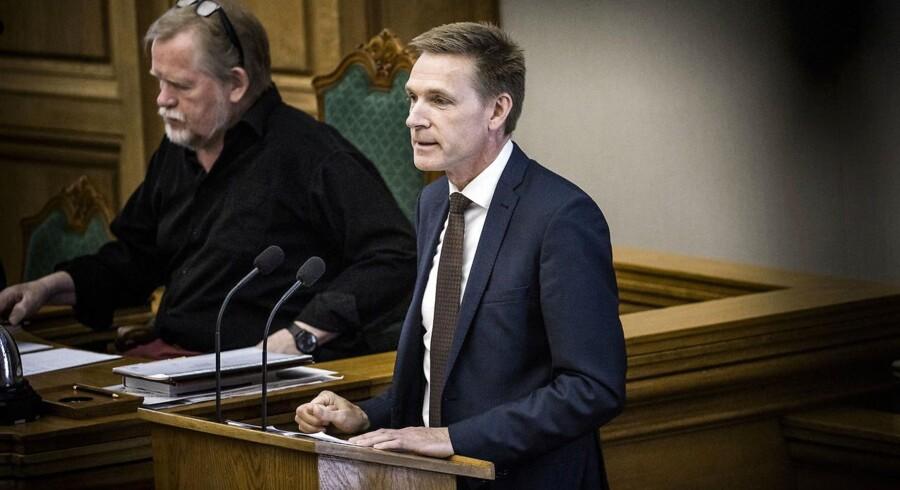 Kristian Thulesen Dahl ved Afslutningsdebatten.