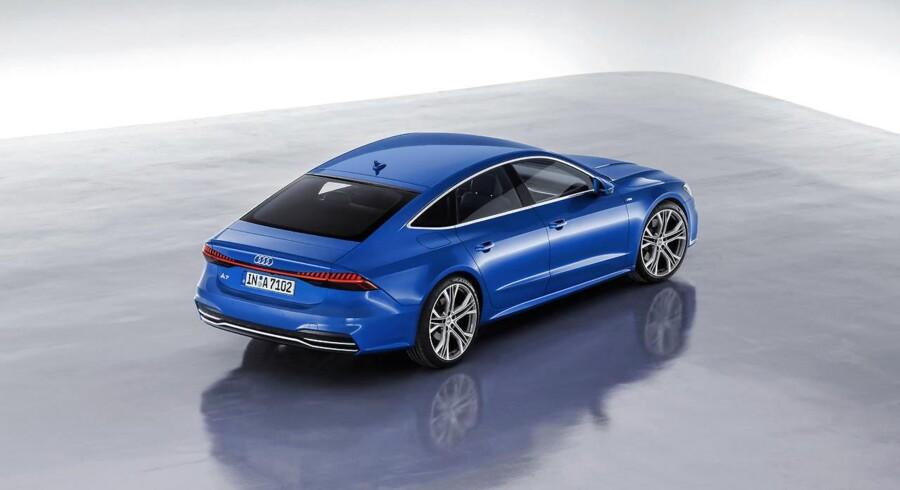 Audi skabte en succes med sin første A7 Sportback, som nu følges op af en helt ny udgave med spændende teknologi, bl.a. en ny aktiv undervogn og 48 volt-strømforsyning
