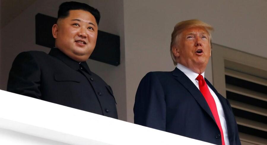 Dagsordnen for dagens topmøde mellem USA og Nordkorea forventes primært at handle om atomnedrustning.
