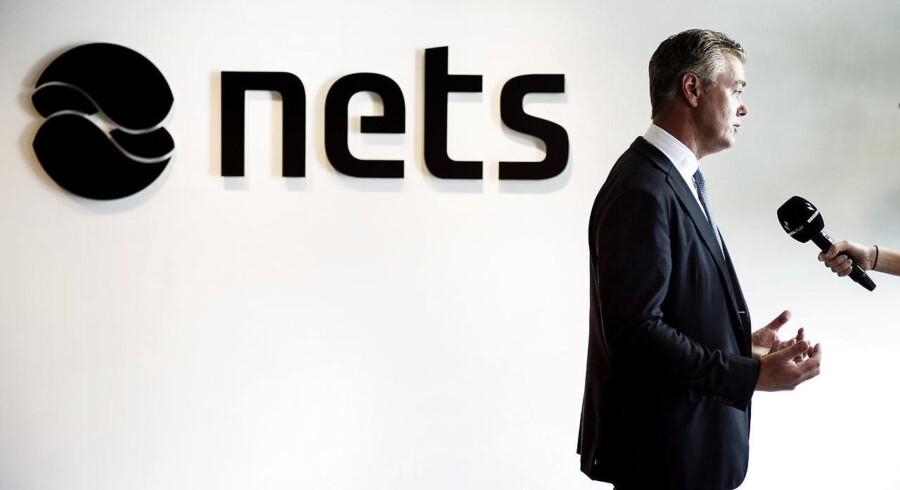 Nets-topchef Bo Nilsson er glad for den volumen, som Apple Pay og andre aktører vil bringe til betalingskortkoncernen. Det betyder dog samtidig større konkurrence til Dankortet, som Nets ejer