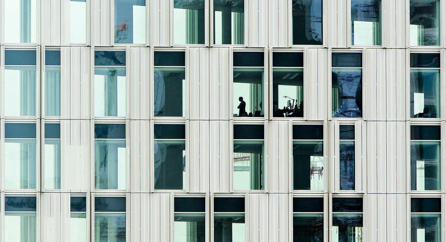 Arkivfoto af det nye Århusgade-kvarter i Nordhavn i København.