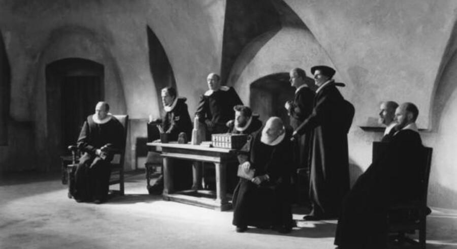 Carl Th. Dreyers »Vredens Dag« - er nu blevet en del af kulturarven under Det Danske Filminstitut.