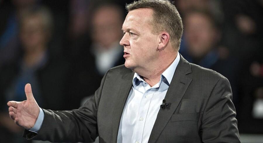 Lars Løkke Rasmussen på Venstres landsmøde i forrige weekend (foto: Henning Bagger / Scanpix 2016)
