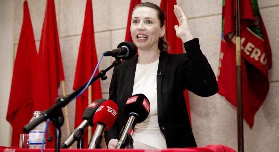 Mette Frederiksen holder sin 1.maj-tale