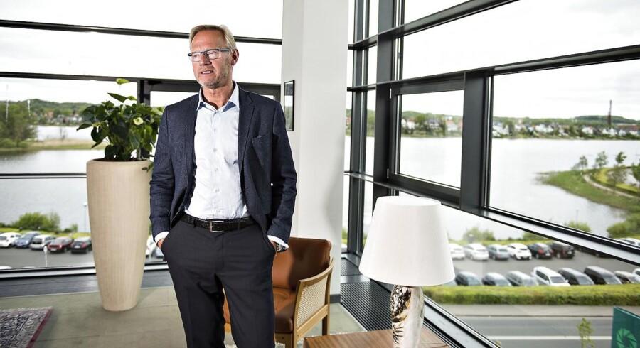 Anders Dam, ordførende direktør i Jyske Bank