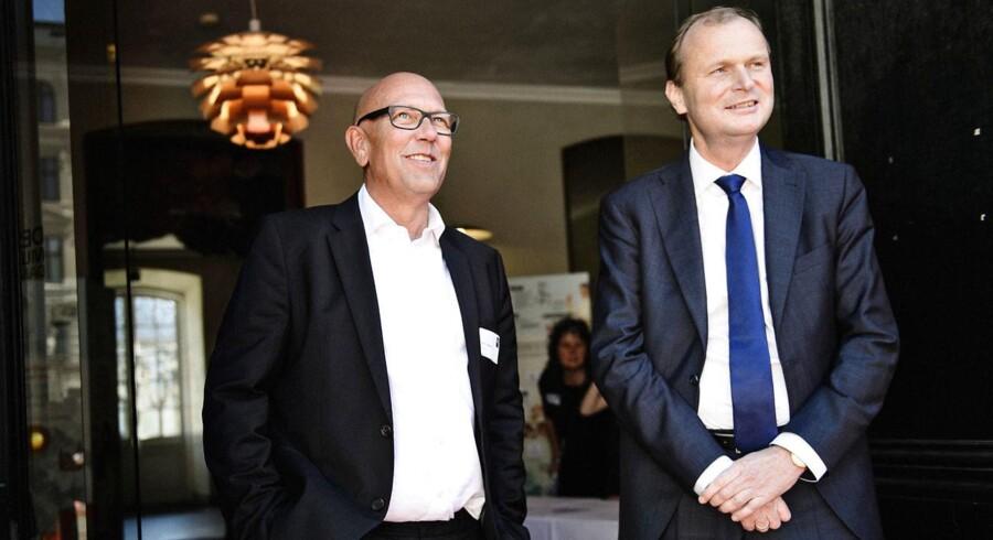 Coops topchef Peter Høgsted og formand Lasse Bolander.