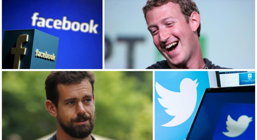 Twitter og Facebook leverede begge regnskaber i denne uge, og her blev det tydeliggjort, at Mark Zuckerbergs sociale medie står langt, langt stærkere end Jack Dorseys Twitter.