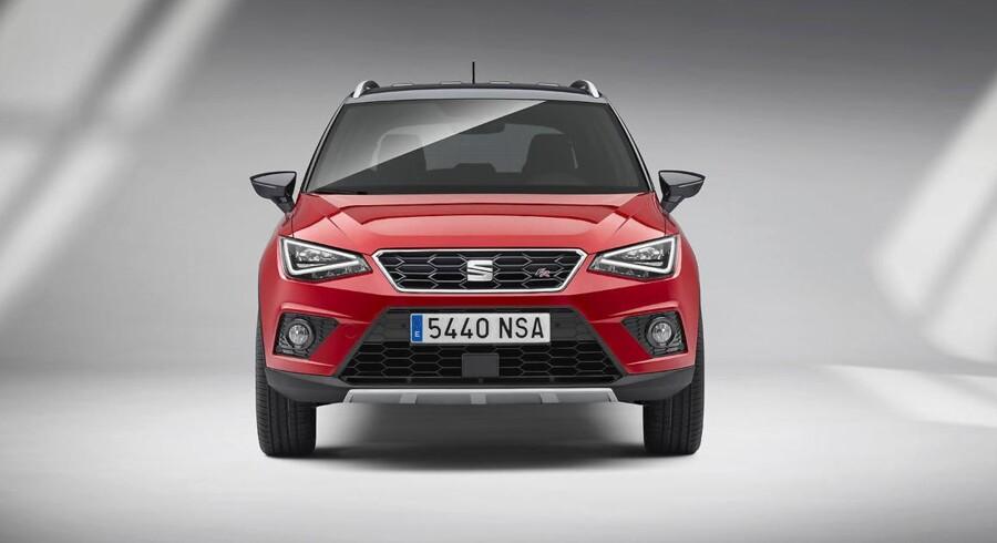 De første priser på Seats lille SUV er kommet på plads. De starter ved 169.900 kr. for en 1,0 TSI Reference med 95 hk