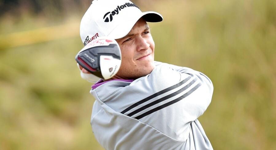 Danske Sebastian Cappelen imponerede på førstedagen i US Open.