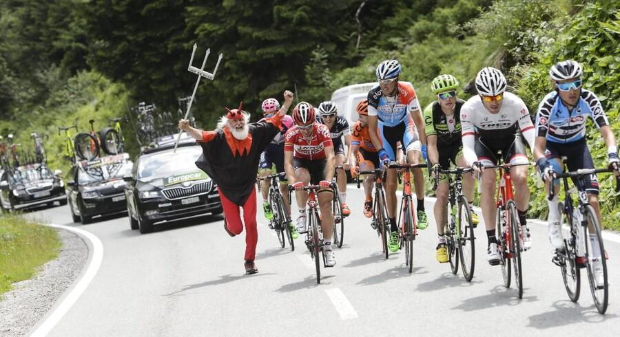 5. etape af Schweiz Rundt var en barsk én af slagsen.