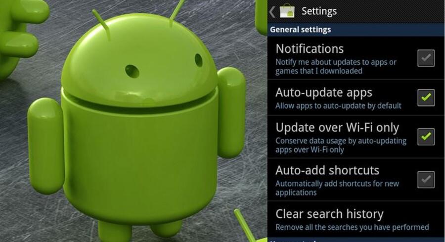 Google ruller efter al forventning snart ud med en Android Market-opdatering.