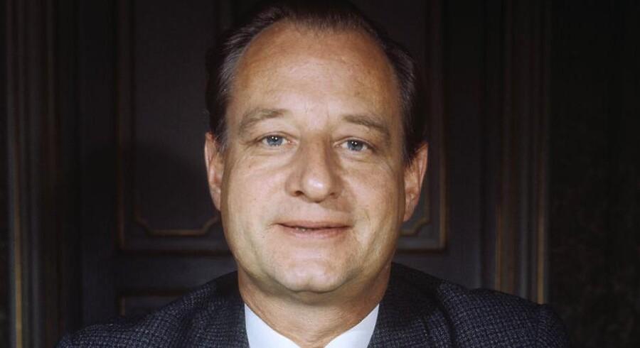 Økonomiminister Ivar Nørgaard.