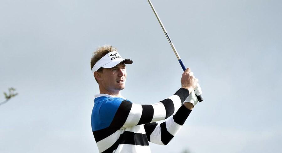 Lasse Jensen er på en delt førsteplads ved BMW International Open i München.