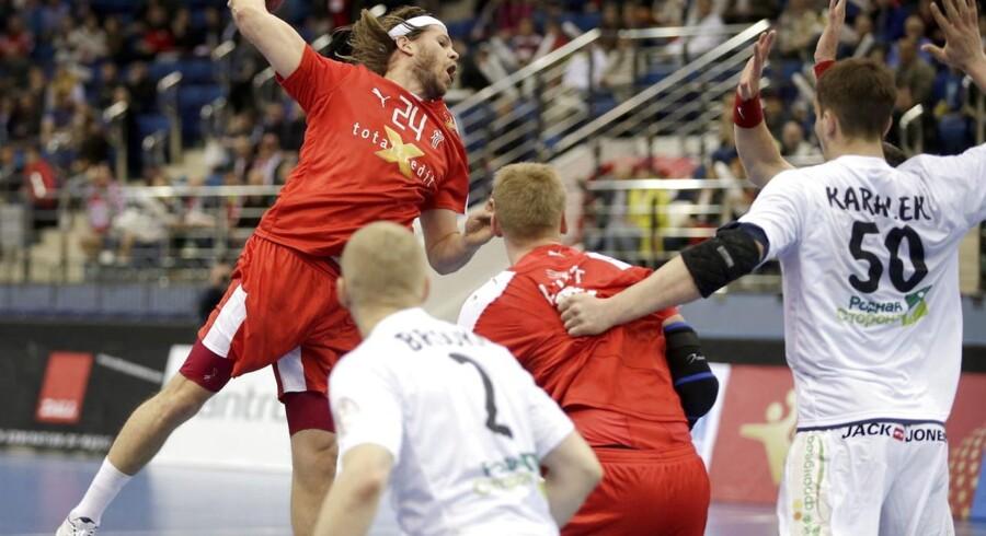 Mikkel Hansen er sammen med det danske landshold allerede klar til EM i Polen.