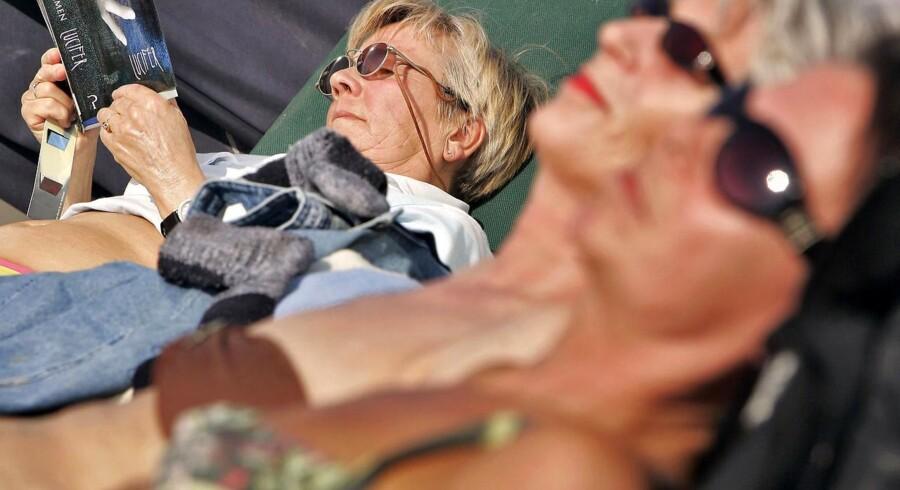 Det har formentlig betydning for risikoen for hudkræft, hvonår på dagen man lægger sig ud og slikker solskin.