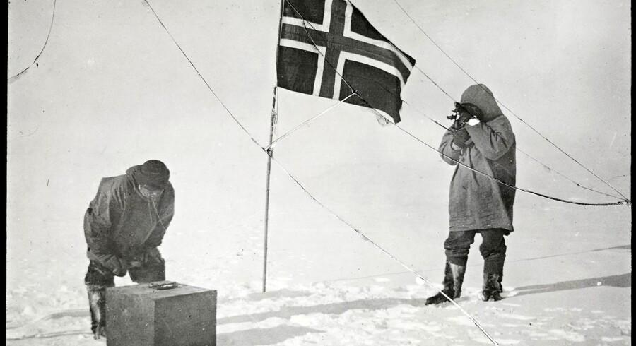 Ekspeditionen, der foretages i forbindelse med Nansen/Amundsen-jubilæet, markerer, at det er 100 år siden, at Roald Amundsen nåede frem verdens sydligste punkt.