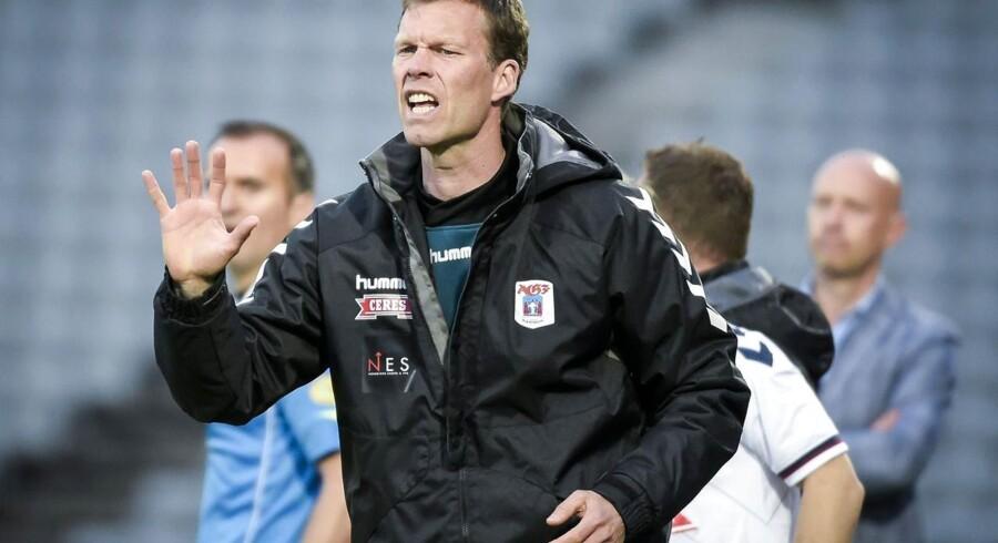 Morten Wieghorst, cheftræner i AGF.