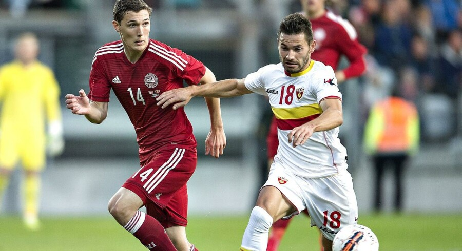 Andreas Christensen (14): »Det var stort at få debut på landsholdet - også større end da jeg spillede min første kamp for Chelsea«.