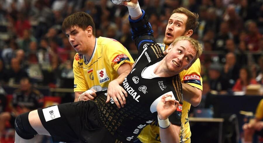 Kiels kaptajn, René Hansen Toft, vandt fredag det tyske mesterskab.