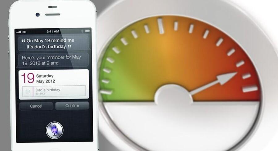 Safari blevet hurtigere - faktisk dobbelt så hurtig, på iOS5 end på iOS4 grundet en versionsopdatering.