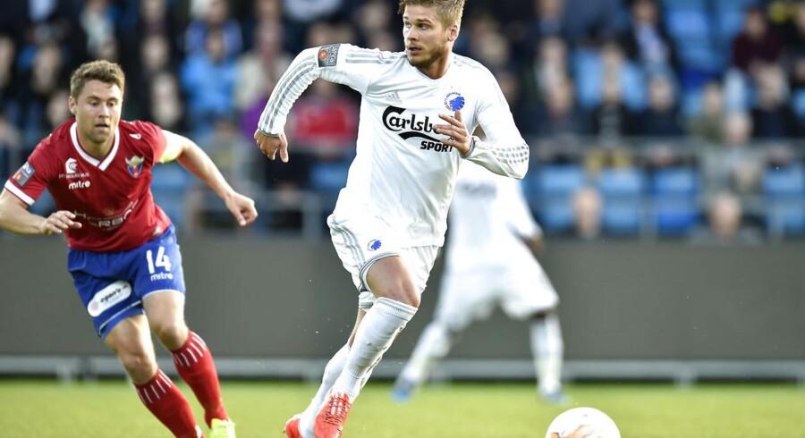 FC København siger farvel til Rurik Gislason.