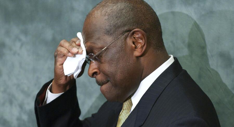 Republikaneren Herman Cains præsidentkandidatur vakler efter alvorlige sexanklager.