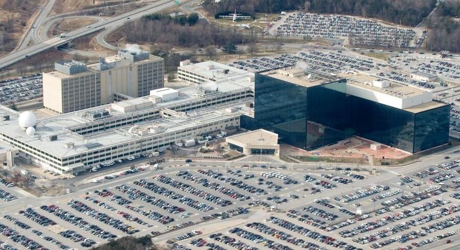 National Security Agencys (NSA) hovedkvarter i Maryland.