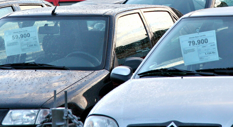 Brugtbilsforhandlerne vil få gyldne dage.