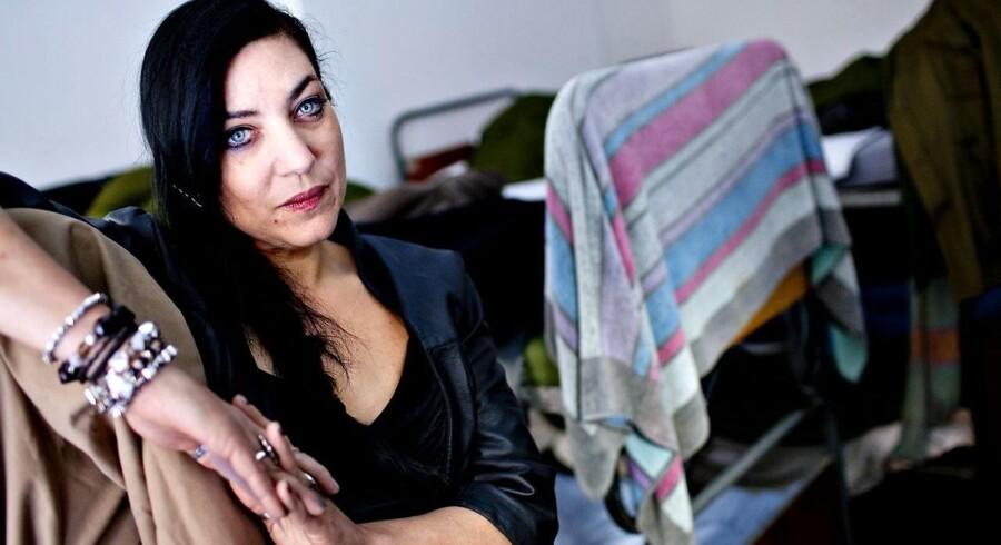 April Chris, leder og stifter af herberget 'En varm seng'.