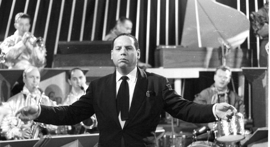 Edmundo Ros og hans orkester optræder i København i november 1968.
